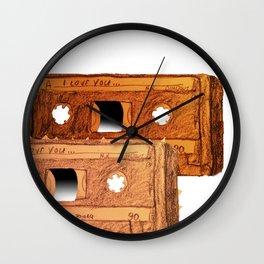 Cassette lovers Wall Clock
