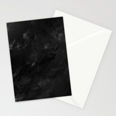 Painted B&W Stationery Cards