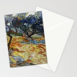 Vincent Van Gogh - Olive Trees Stationery Cards