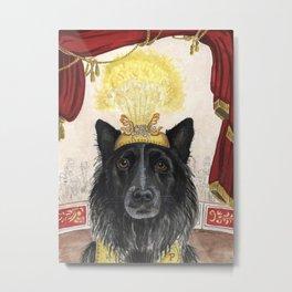 Pearson the Circus Dog Metal Print