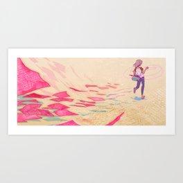 Letters Messenger Art Print
