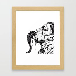 The cure Framed Art Print