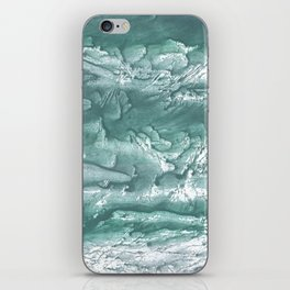 Marine color wash drawing painting iPhone Skin