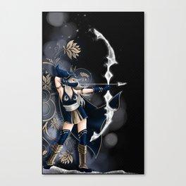 Archère Canvas Print