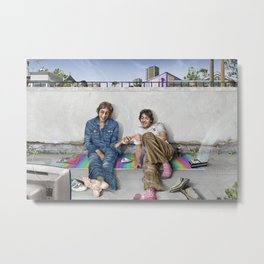 John and Paul get away from it all Metal Print