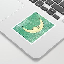 La Luna Mexican Loteria Bingo Card Sticker