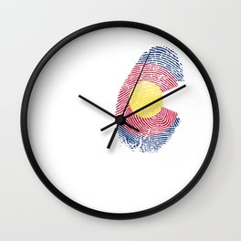 Colorado - It's In My DNA Gift Wall Clock