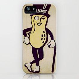 Mr. Peanut iPhone Case