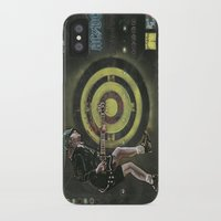 acdc iPhone & iPod Cases featuring AC/DC by Ray Stephenson
