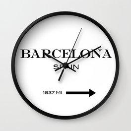 Barcelona - Spain Wall Clock