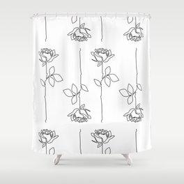 Thorns Shower Curtain