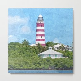Hope Town Lighthouse Metal Print