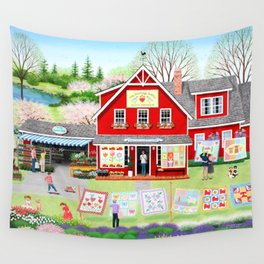 Springtime Wishes Wall Tapestry