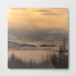 Winter Fog - II Metal Print