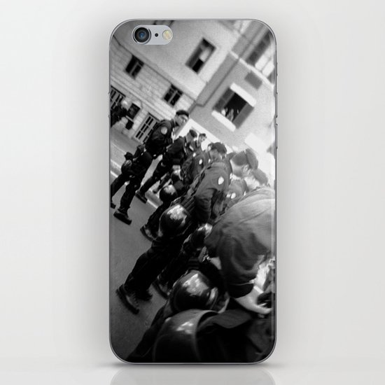 Roman student protest iPhone & iPod Skin
