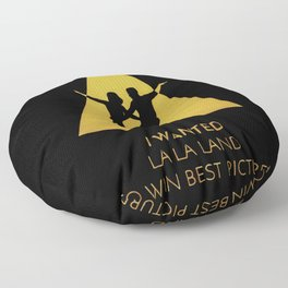 musical oscars Floor Pillow