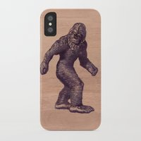 bigfoot iPhone & iPod Cases featuring Bigfoot by Swift Creative