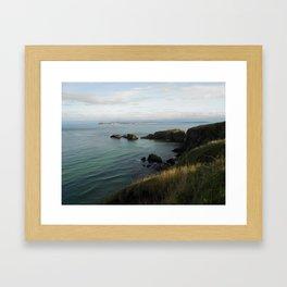 Antrim Coast - Northern Ireland Travel Photography Framed Art Print