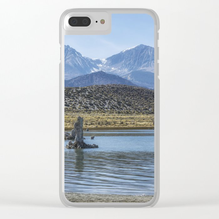 Mono Lake Tufa, No. 6 Clear iPhone Case