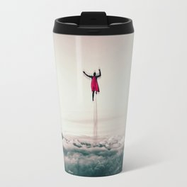 Superman Fan Art Travel Mug