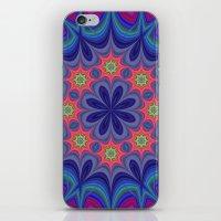 kaleidoscope iPhone & iPod Skins featuring Kaleidoscope by David Zydd