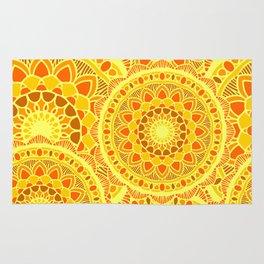 sun flower summer Rug