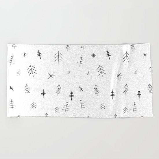 O Christmas tree[s] Beach Towel