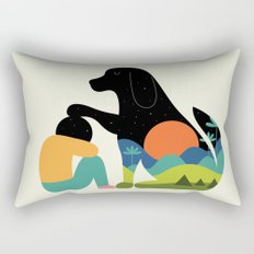 The Best Is Yet To Come Rectangular Pillow