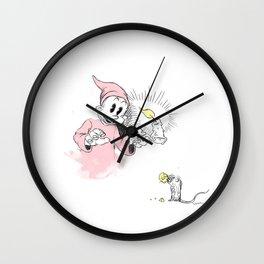 Dopey in the Dark Wall Clock
