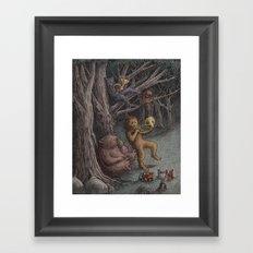 Forest Music  Framed Art Print