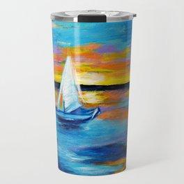 Sailing Away Travel Mug