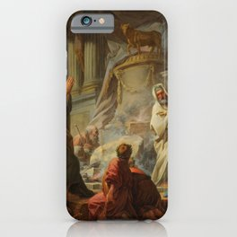 "Jean-Honoré Fragonard ""Jeroboam Sacrificing to the Idols"" iPhone Case"