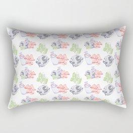 Morbid Pattern Rectangular Pillow