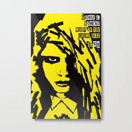 George A. Romero Series :: Night of the Living Dead Metal Print