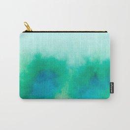 Green Blue Haze Carry-All Pouch