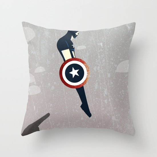 Freedom Fall Throw Pillow