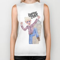 hetalia Biker Tanks featuring The Empire State by Rofley