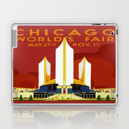 1933 Chicago World's Fair Laptop & iPad Skin