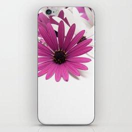 Fleur violette iPhone Skin