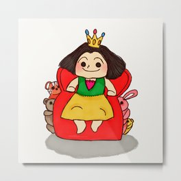 Queen Of The House Metal Print