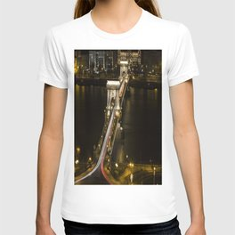 Budapest Chain Bridge T-shirt
