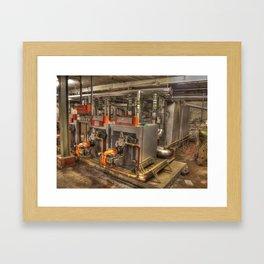 Boiler House Framed Art Print