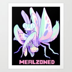 mealzoned Art Print
