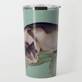Cat In The Pines Travel Mug