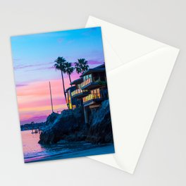 Cliff House On The Lower Bay Stationery Cards