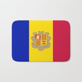 Flag Of Andorra Bath Mat