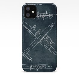 LOCKHEED CONSTELLATION - First flight 1943 iPhone Case