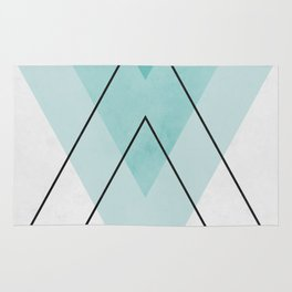 Minimalist geometry XIX Rug