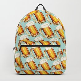 Beer Pattern Backpack
