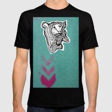 Bear Mens Fitted Tee Black MEDIUM